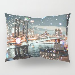 New York City Lights Pillow Sham