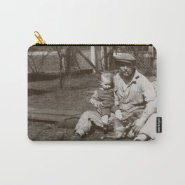 Old School Father - Vintage Photography Carry-All Pouch