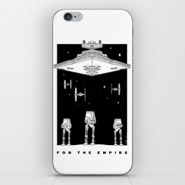 For The Empire iPhone Skin