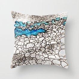 ...on the seashore Throw Pillow