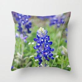 State Flower Throw Pillow