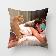 Breakfast at Tiffany's #4 Throw Pillow