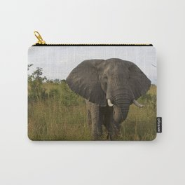 Elephant in the Wild Carry-All Pouch