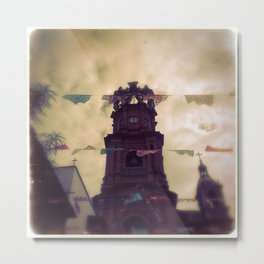 """""""in Mexico I went for a walk"""" Metal Print"""