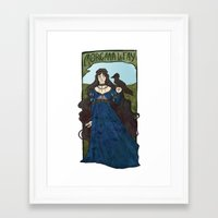 pagan Framed Art Prints featuring pagan poetry by alexa bosy