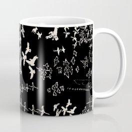 White Birds Coffee Mug