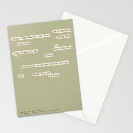 Blackout Poem {025.} Stationery Cards