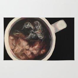 Coffee Swirl Rug
