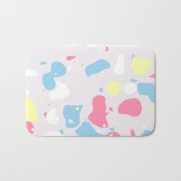 Terrazzo Abstracts Collection, Pattern 1 Bath Mat