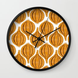 pattern onion Wall Clock
