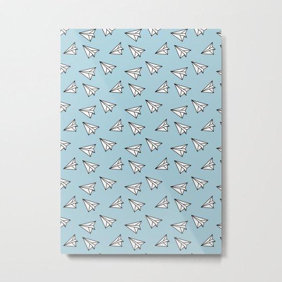 Paper Plane #2 Metal Print