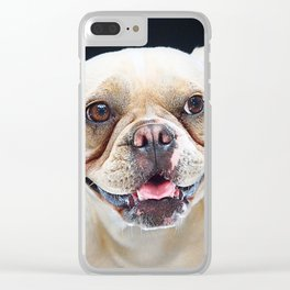 Super Pets Series 1 - Maya Smiles Clear iPhone Case