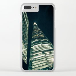 A Shard Day's Night Clear iPhone Case