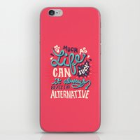 paper towns iPhone & iPod Skins featuring Paper Towns: It Beats The Alternative by Risa Rodil