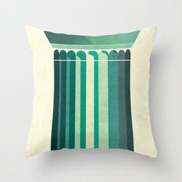 Doric Throw Pillow