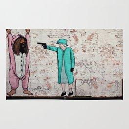 Street Art London Queen Thug Urban Wall Graffiti Artist Prolifik Rug