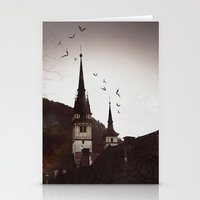 gothic Stationery Cards featuring Gothic  by Teo Dima