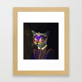 Cool Animal Art - Cat Framed Art Print