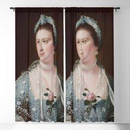 Joseph Wright of Derby - Portrait of the Hon Mrs Boyle Blackout Curtain