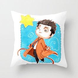 Castiel Novak, Supernatural, SPN, Cas Throw Pillow