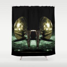 Macro cocina Shower Curtain