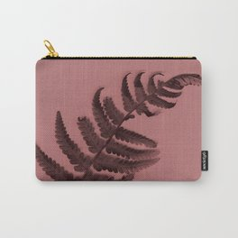 Fern on marsala Carry-All Pouch
