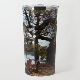 Peace By The Creek Travel Mug