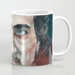 EDGAR ALLAN POE - watercolor portrait.4 Coffee Mug
