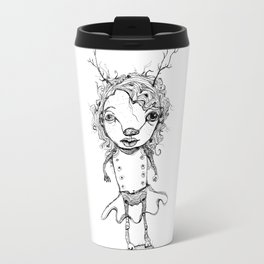 wild woman Travel Mug