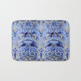 Blue Lights  #society6 #decor #buyart Bath Mat