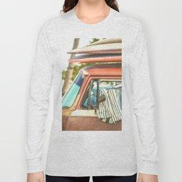 Surf Van Maui Hawaii Long Sleeve T-shirt