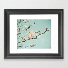 Paper Petals Framed Art Print