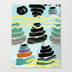 Shit Pyramids Canvas Print