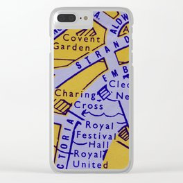 Streets of London Clear iPhone Case