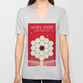 james webb space telescope, Unisex V-Neck