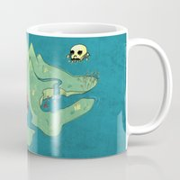 neverland Mugs featuring Neverland by Quinn Shipton