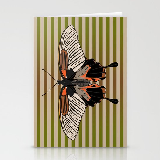Butterfly 2 Stationery Cards