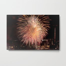 Firework collection 11 Metal Print