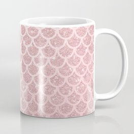 Blush Mermaid Glitter Coffee Mug