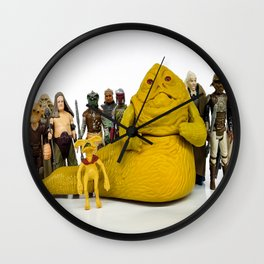 Jabba & The Crew Wall Clock