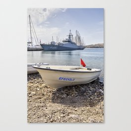 When I Grow Up I Want To Be A Warship Canvas Print