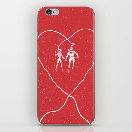 Love Space, Red iPhone & iPod Skin
