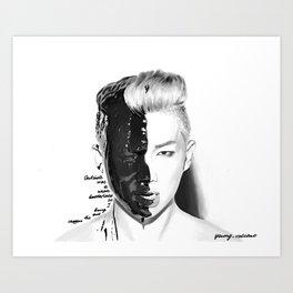 Rap Monster Art Print