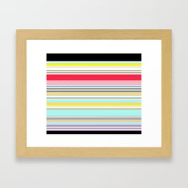 Delicious Rainbow Framed Art Print