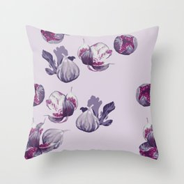 Mouse in figs Throw Pillow