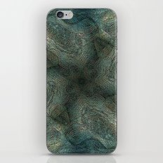 Graphic symmetric design background iPhone Skin