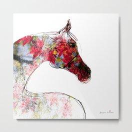 Horse (Autumn Mare) Metal Print