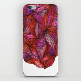 brightly blooming full iPhone Skin