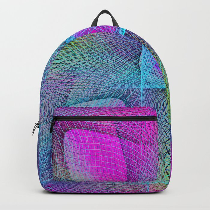 Colorful Complexity Backpack