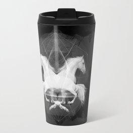 Kaleidoscoping Horses Travel Mug